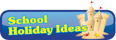 School Holiday Ideas infographic